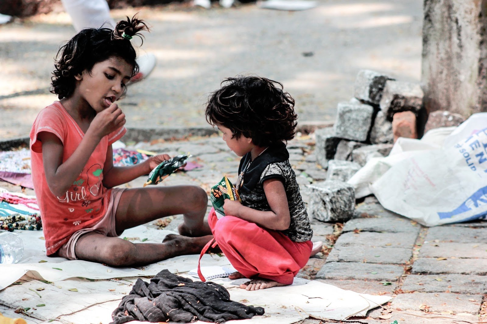 Street Side kids at Cochin  Photo by vannarath uday