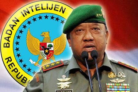 Kepala BIN Letnan Jenderal (TNI). Marciano Norman