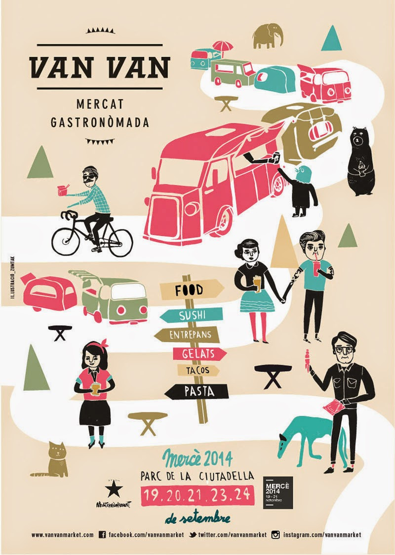 Van Van mercadillo de Food Trucks