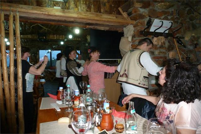 "Cena ""tradicional"" rumana - Bran"