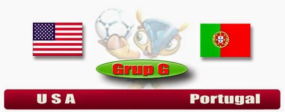 PREVIEW Pertandingan USA vs Portugal 23 Juni 2014 Dini Hari