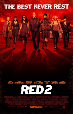 Red 2 movie poster large malaysia