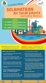 Lomba Blog Aetra Jakarta