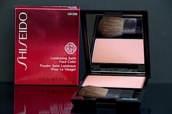 shiseido blush poudre satin lumineux OR308