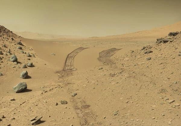 Inilah Warna Asli Langit Planet Mars