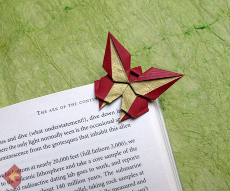 origami bookmark on pinterest heart bookmark origami