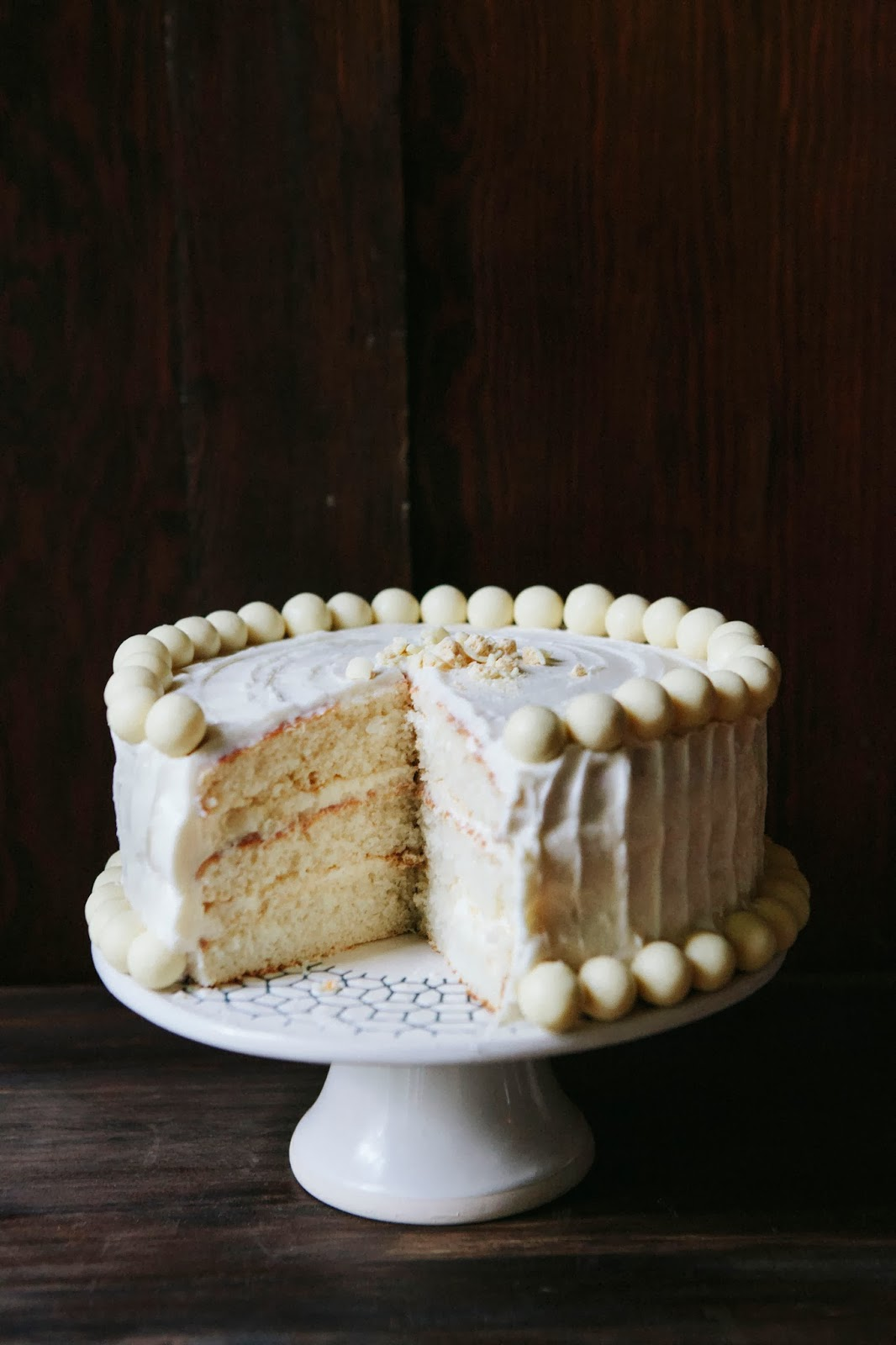White Chocolate Malt Cake - hummingbird high || a desserts and baking ...