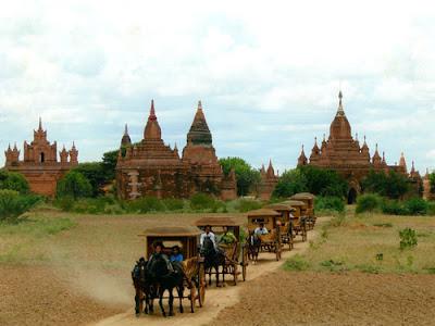 Myanmar turismo Pagán