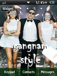 Other Gangnam Style Samsung Corby 2 Theme 1 Wallpaper