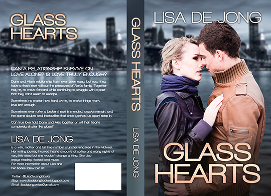COVER REVEAL: Glass Hearts by Lisa De Jong