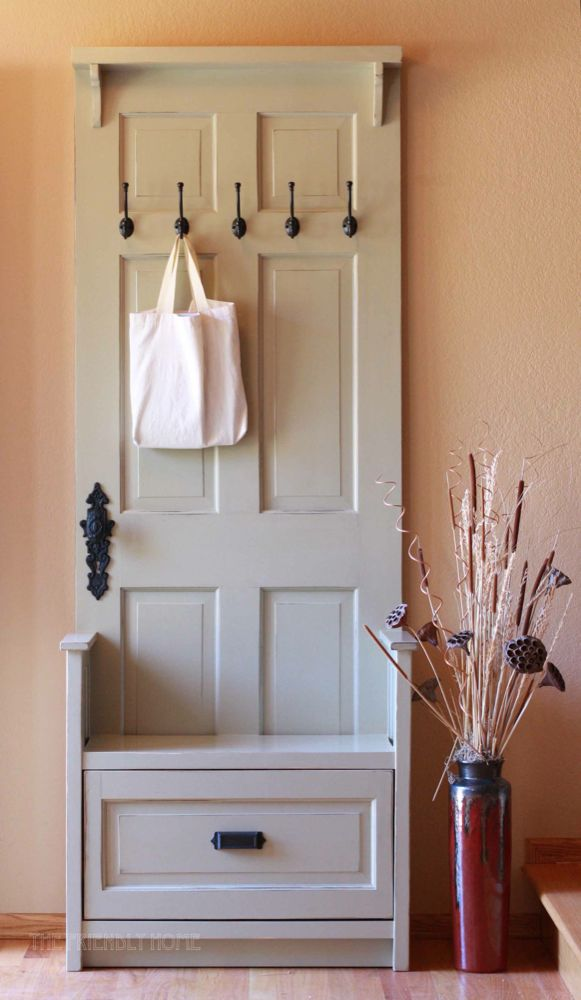 17 Creative Diy Projects To Repurpose An Old Door Do It
