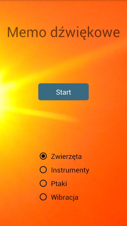 Darmowa gra aktywizujaca zmysły słuchu i dotyku (na Androida)