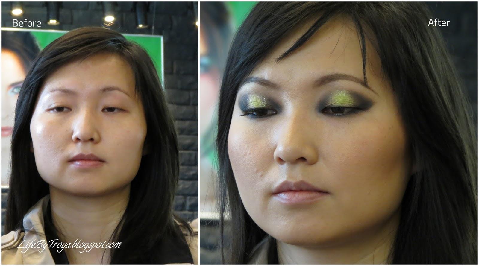 Фото макияжа азиатского типа
