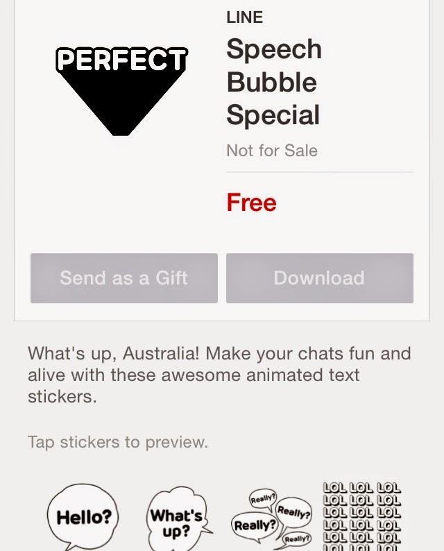 Speech Bubble Special sticker
