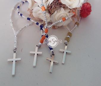detalles primera comunion rosarios
