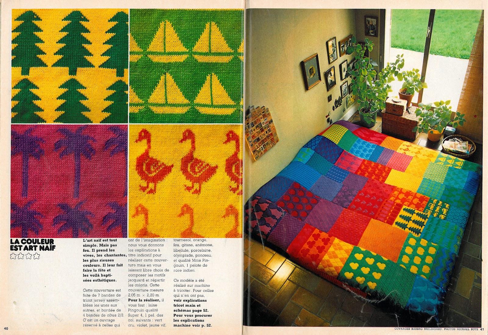 tricotez les couleurs du printemps. Black Bedroom Furniture Sets. Home Design Ideas