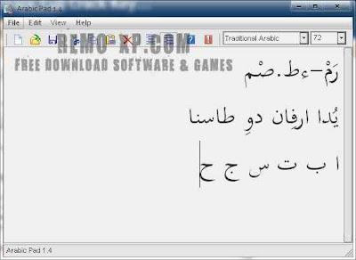 arabic pad