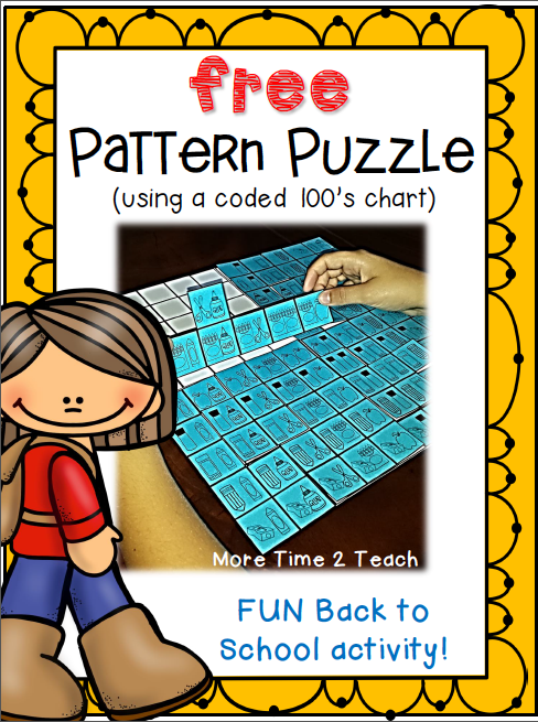 http://www.teacherspayteachers.com/Product/Pattern-Puzzle-Freebie-for-Back-to-School-1319299