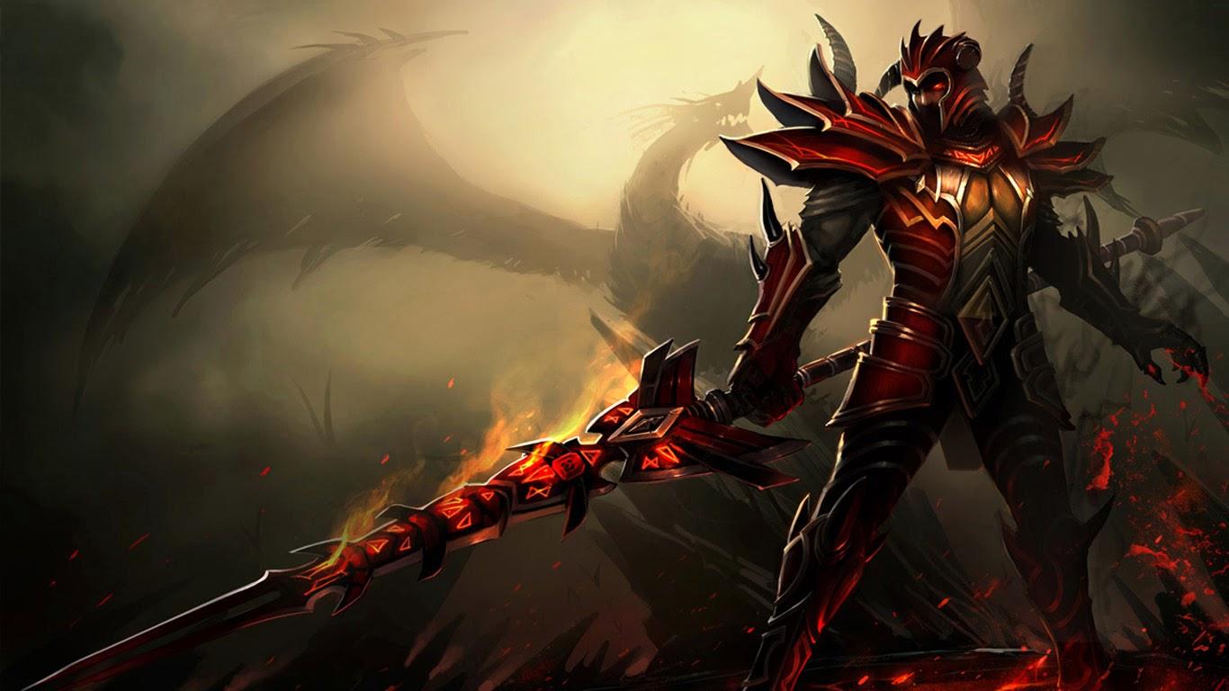 Jarvan Dragon Slayer Skin LoL b5 Wallpaper HD