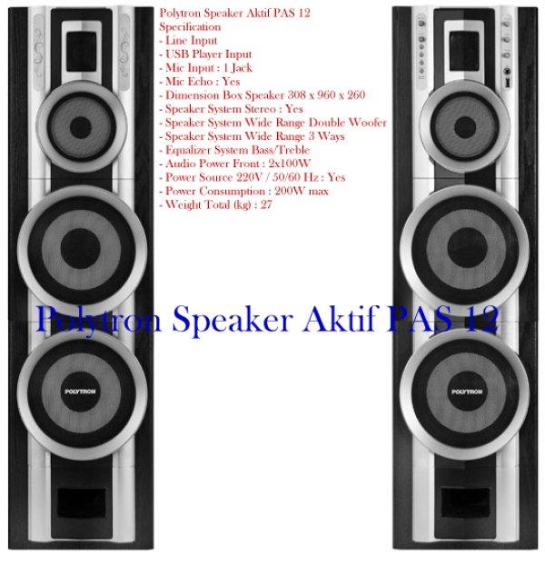 Harga Speaker Aktif Polytron Pas 28