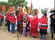 Faith Spotted Eagle: Indian Women Defending Land from Keystone Pipeline!