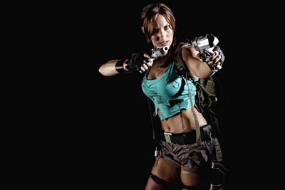 Lara Croft Cosplay 2012 by Jenn Croft
