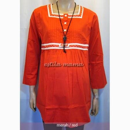 Gambar Model Baju Hamil Muslim Untuk Kerja Terbaru 2015