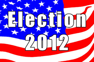 "Flag with ""Election 2012"""