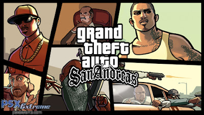PS2 - Grand Theft Auto: San Andreas