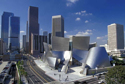 best architecture, walt disney concert hall, frank gehry, philharmonic