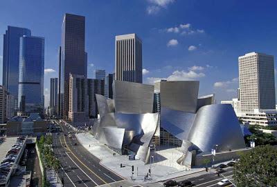 best architecture, walt disney concert hall, frank gehry, philharmonic
