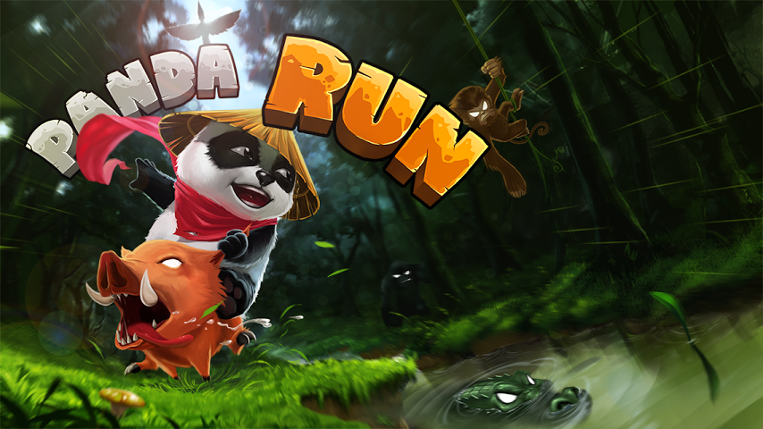 Panda Run Gameplay