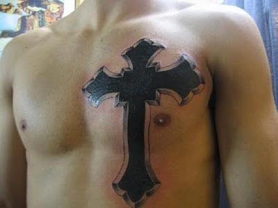 Cross tattoos best art designs for Big cross tattoos