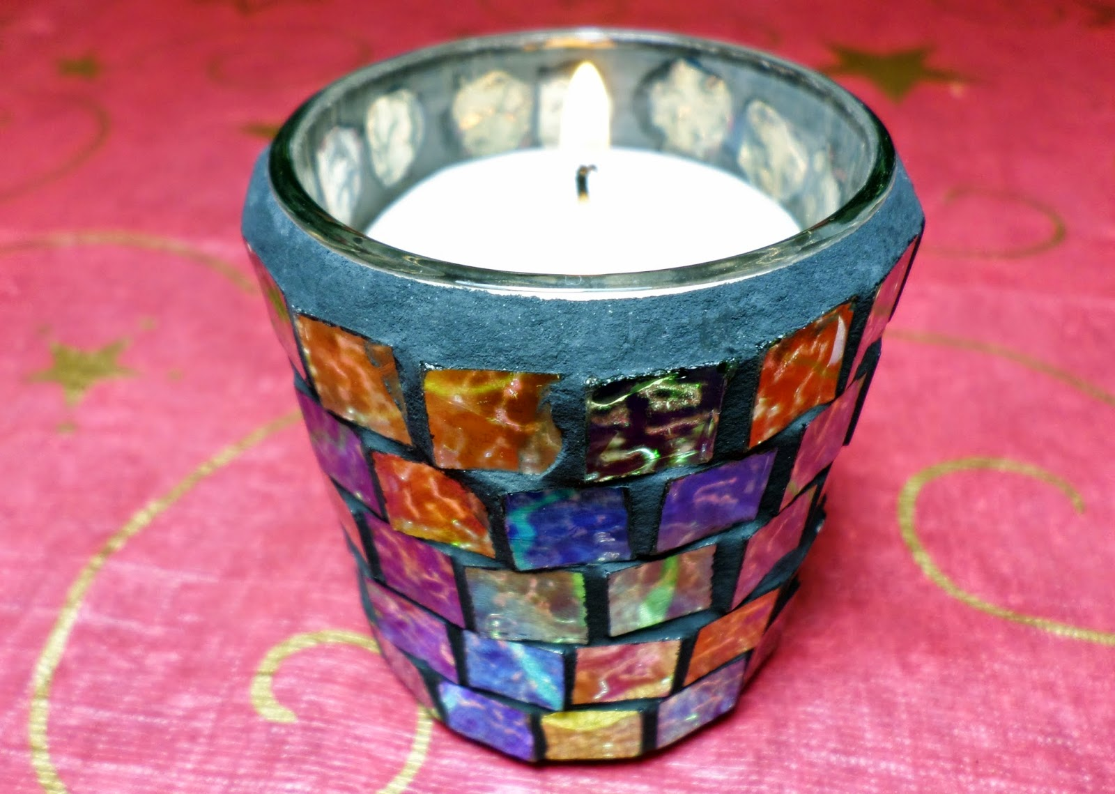 Yankee Candle Simply Home Stony Cove in Masaic Sampler Votive Holder