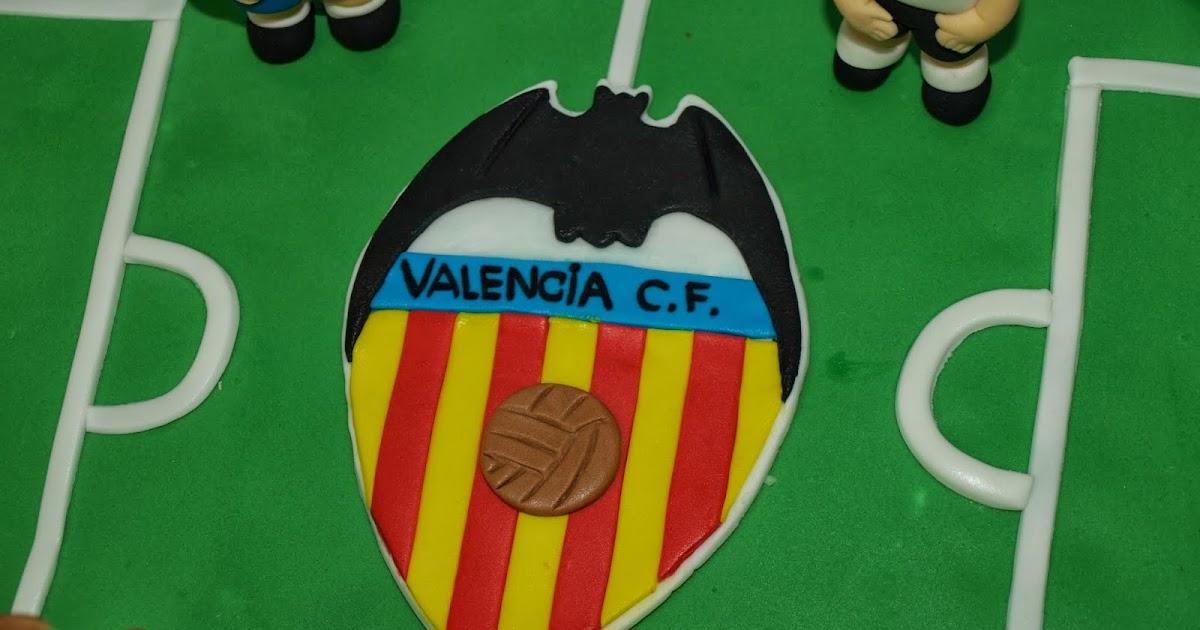 Dulces molina tarta campo futbol y bal n valencia c f - Campo de futbol del valencia ...