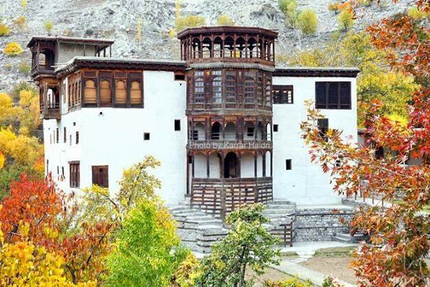 Khuplu fort Gilgit Baltistan