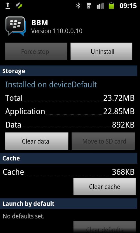 merubah pin bbm android