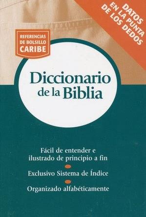 Referencias De Bolsillo Caribe-Diccionario De La Biblia-