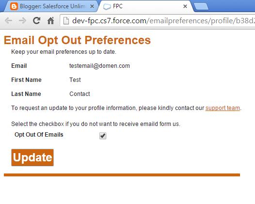 Force.com Site