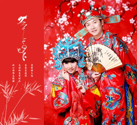 World's Most Favorite Wedding Style: Chinese Traditional Bride Dress