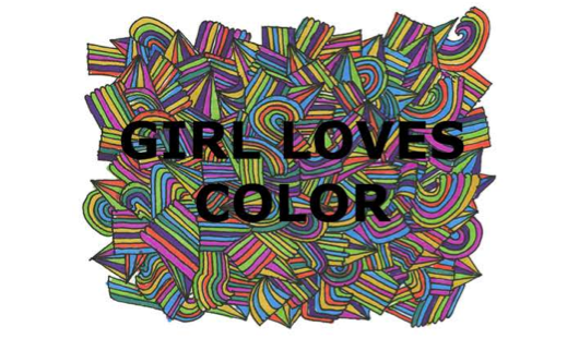 Girl Loves Color