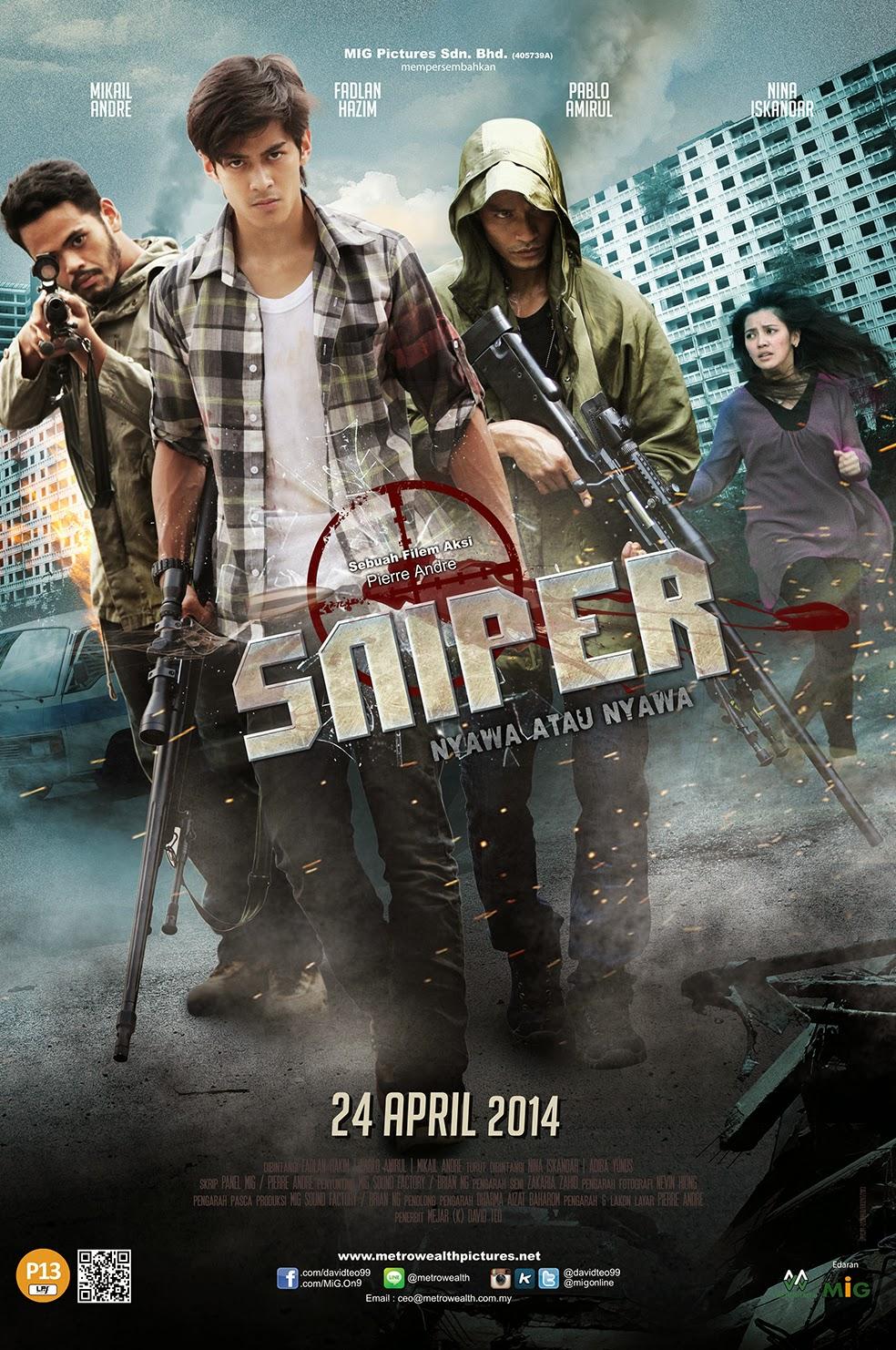 Filem SNIPER (2014)