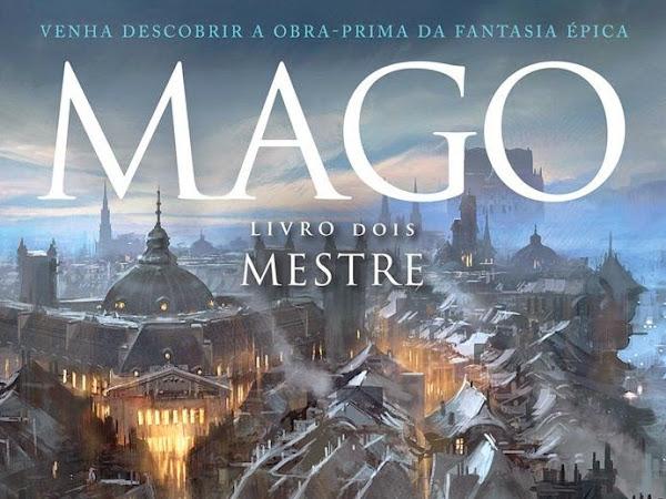 Mago, volume 2: Mestre, Raymond E. Feist e Saída de Emergência Brasil