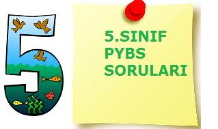 5.SINIF PYBS MATEMATİK SORULARI