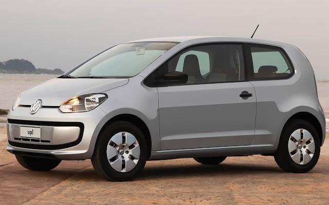 Volkswagen up! 2 portas - aumento de preço