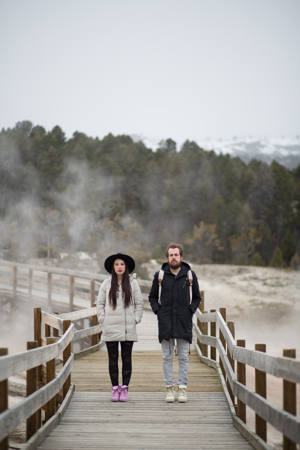 His and Hers Baggy Palladium Boots in Yellowstone