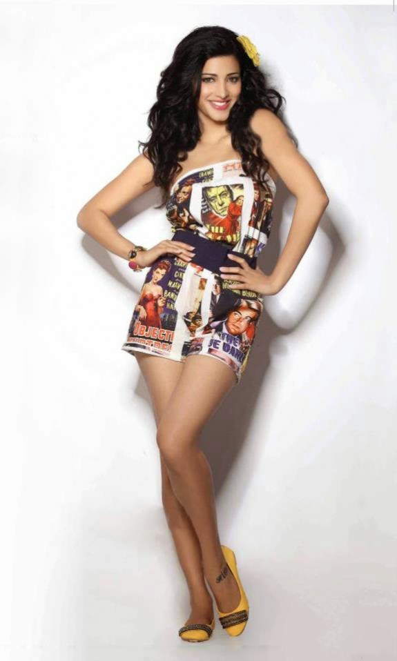 Bollywood Actress Shruti Hasaan
