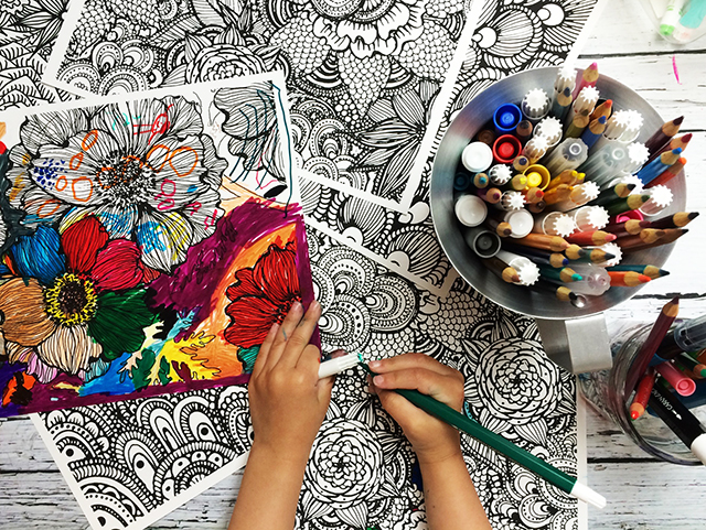 It Will Come As No Surprise That Coloring Is BIG In Our Home And Even Lucy Has Tested Out Many Of My Pages I Happy To Say They Are