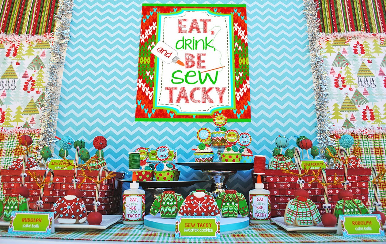 Lets Be Sew Tacky Party Design Dazzle