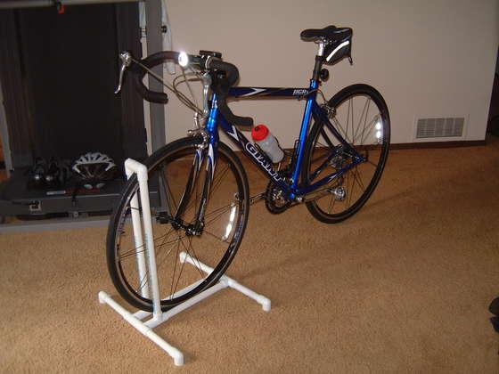 Be Different Act Normal Diy Pvc Bike Racks Garage